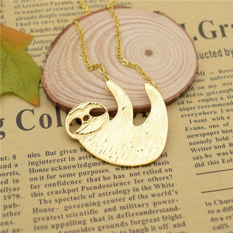 """Slothie"" - Necklace 1"