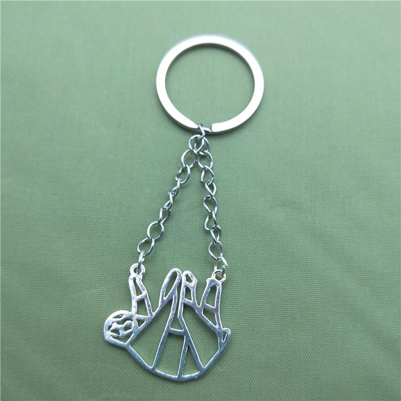 """Origami"" - Sloth Keychain 2"