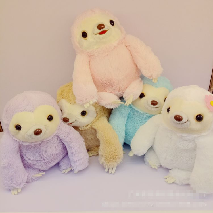 """ColorSlothie"" - Sloth Plushtoy 1"