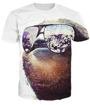 """""""SunSloth"""" - Sloth Shirt 1"""