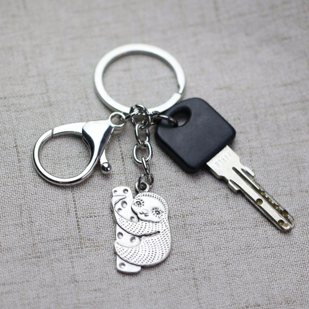 """Huggy"" - Sloth Keychain 1"