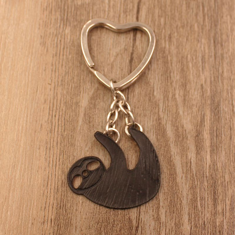 """Heart"" - Sloth Keychain 5"