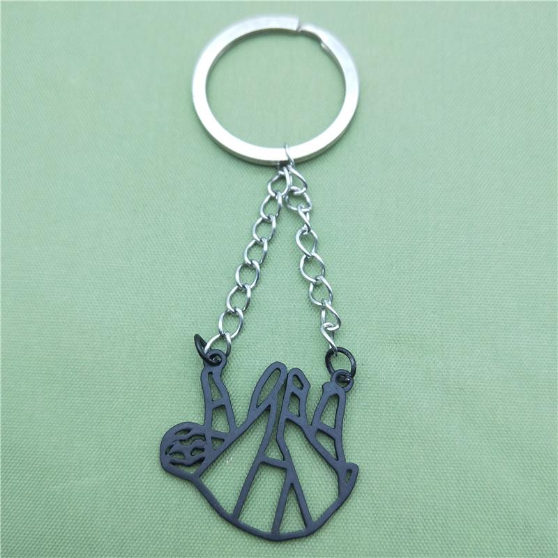 """Origami"" - Sloth Keychain 3"